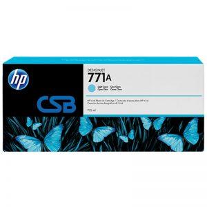 CARTUCHO HP771A CY. 775ML B6Y20A